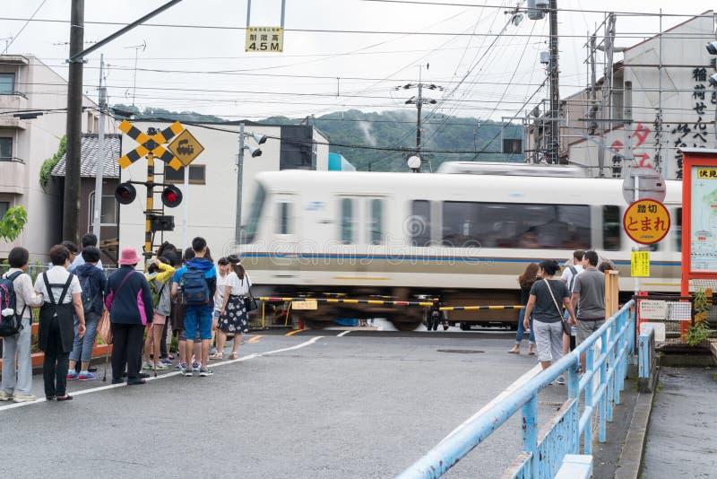 JR koleje w Japonia zdjęcie royalty free