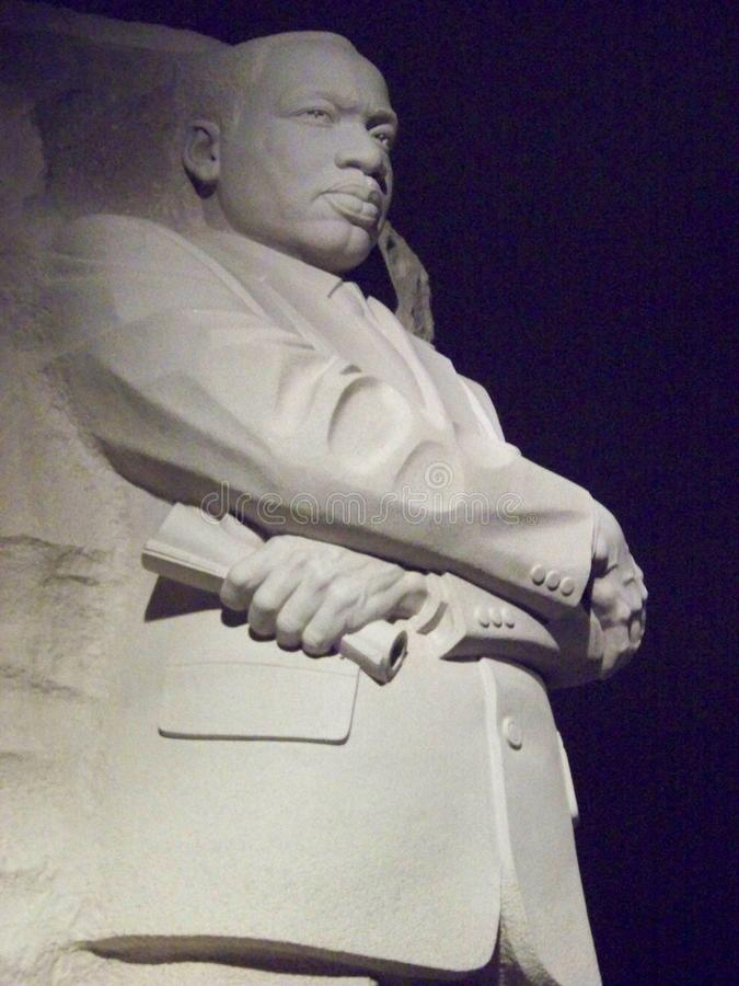 JR monument de Martin Luther King photo libre de droits