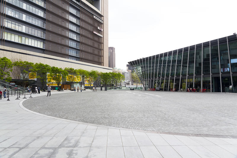 JR Osaka Station stock foto