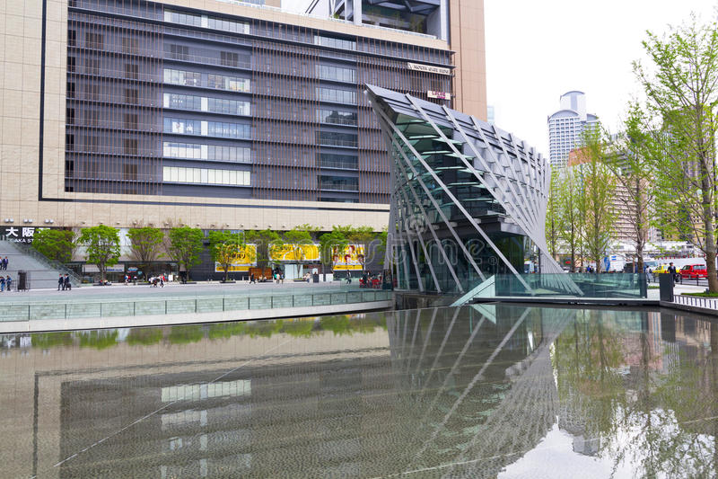 JR Osaka Station royalty-vrije stock foto's