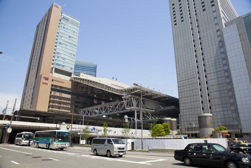 JR Osaka Station image stock