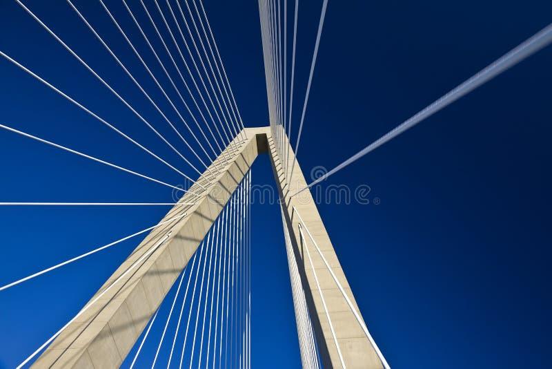 JR puente, carolin del sur de Arturo Ravenel de Charleston fotografía de archivo libre de regalías