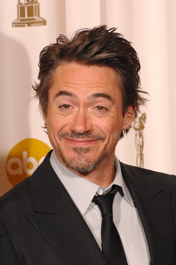 Jr. Robert-Downey stockbild