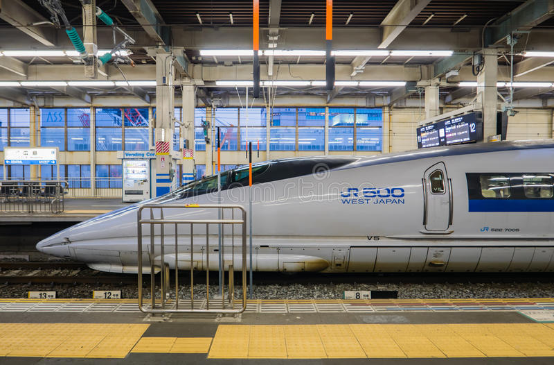 JR 500 zachodni Japonia obrazy stock