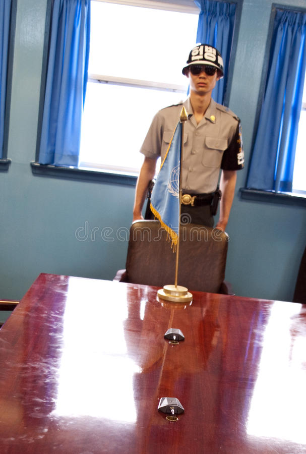 JSA conference room royalty free stock photo