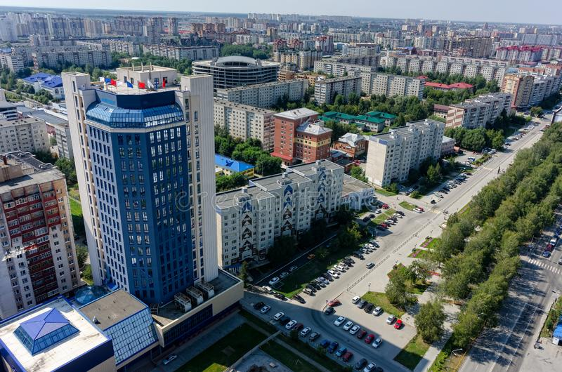 JSC Siberian Scientific Analytical Center. Tyumen royalty free stock photos