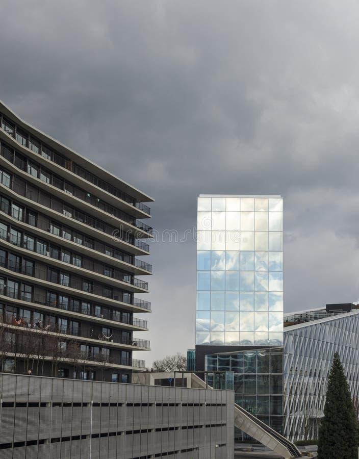 JTI Headquarters Geneva royalty free stock photography