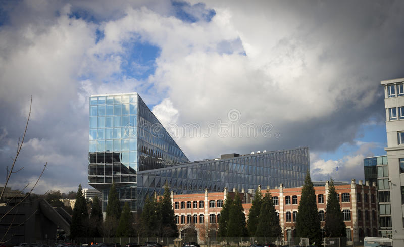 JTI Headquarters Geneva stock image