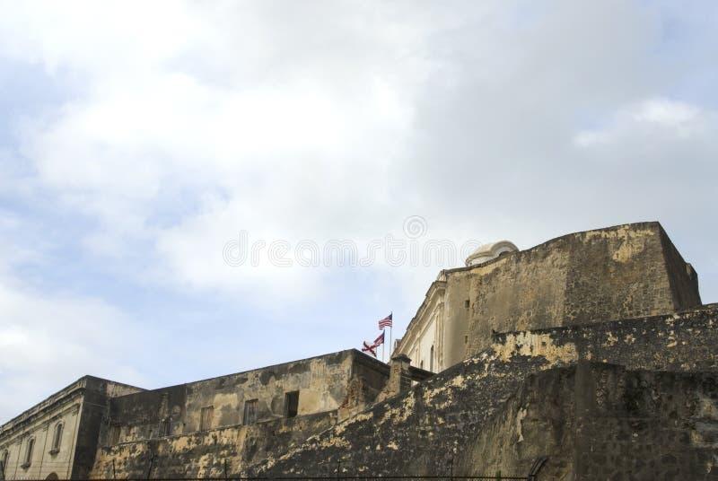 Jua del San Cristobal san della fortezza fotografia stock