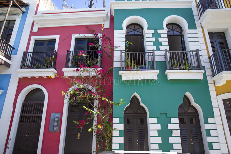 Juan Πουέρτο Ρίκο SAN στοκ φωτογραφίες