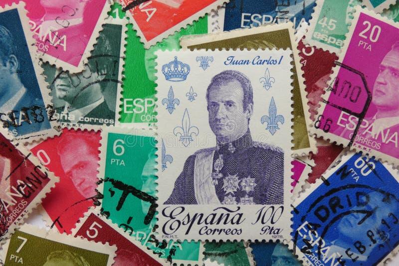 Juan Carlos I de l'Espagne photos stock
