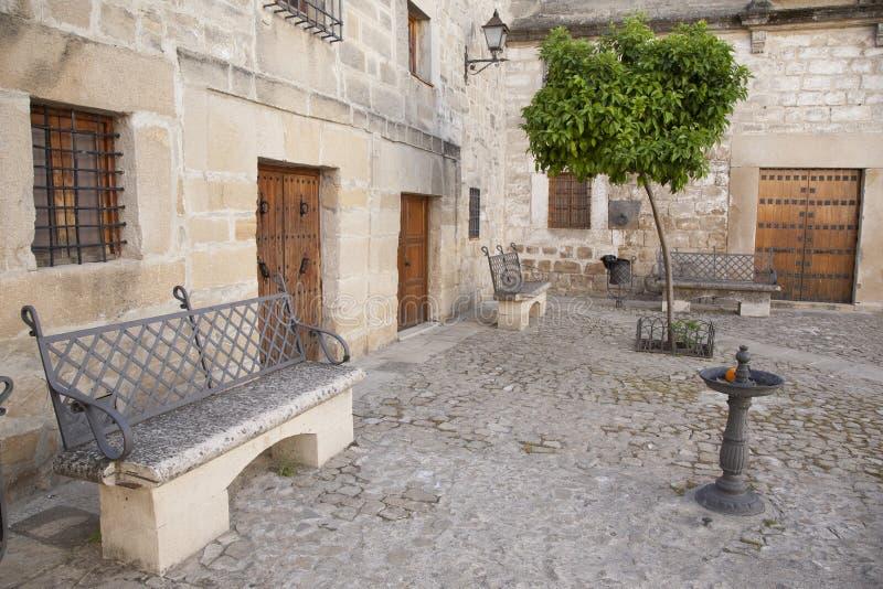 Juan de Valencia Square Ubeda royaltyfria foton