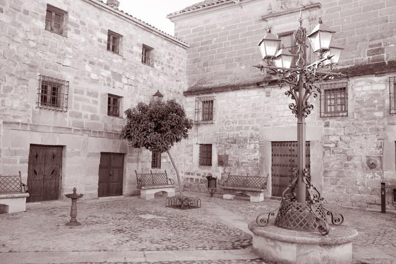 Juan de Valencia Square, Ubeda imagens de stock royalty free
