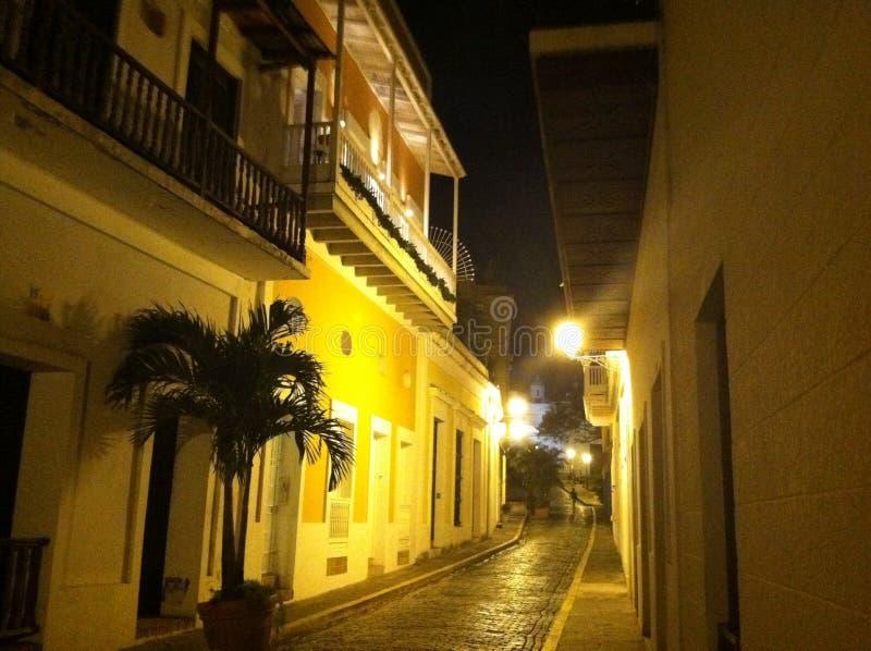 juan gammala Puerto Rico san fotografering för bildbyråer