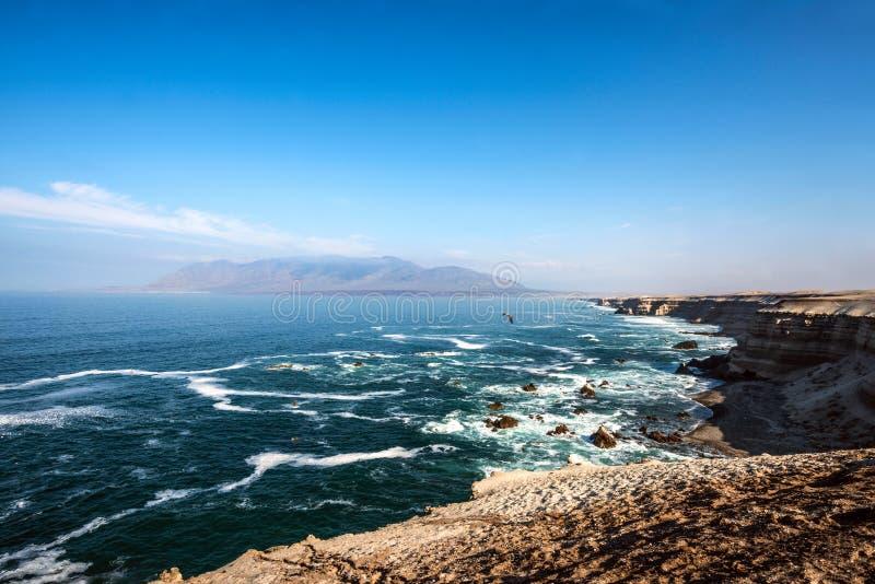 Juan Lopez Beach, Atacama, costa chilena imagenes de archivo