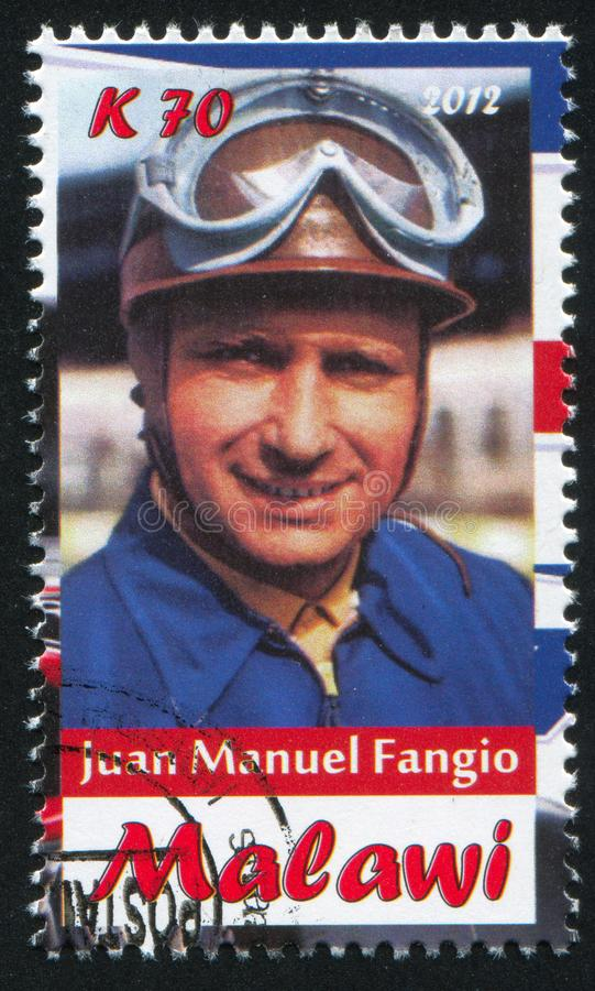 Juan Manuel Fangio foto de stock royalty free
