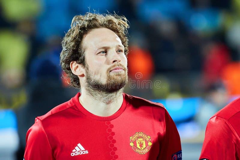 Juan Mata Attacking-middenvelder in gelijke 1/8 def. van Eur stock fotografie