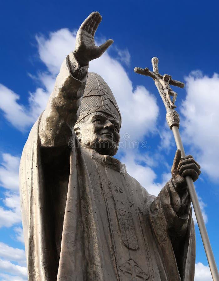 Juan Pablo II fotografía de archivo