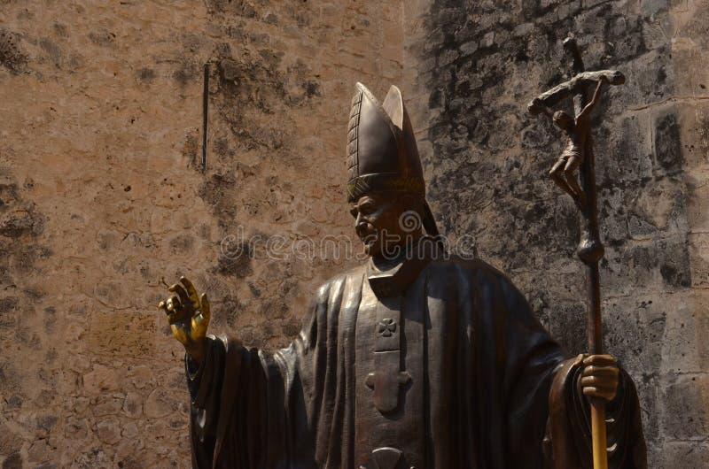 Juan Pablo II foto de stock royalty free