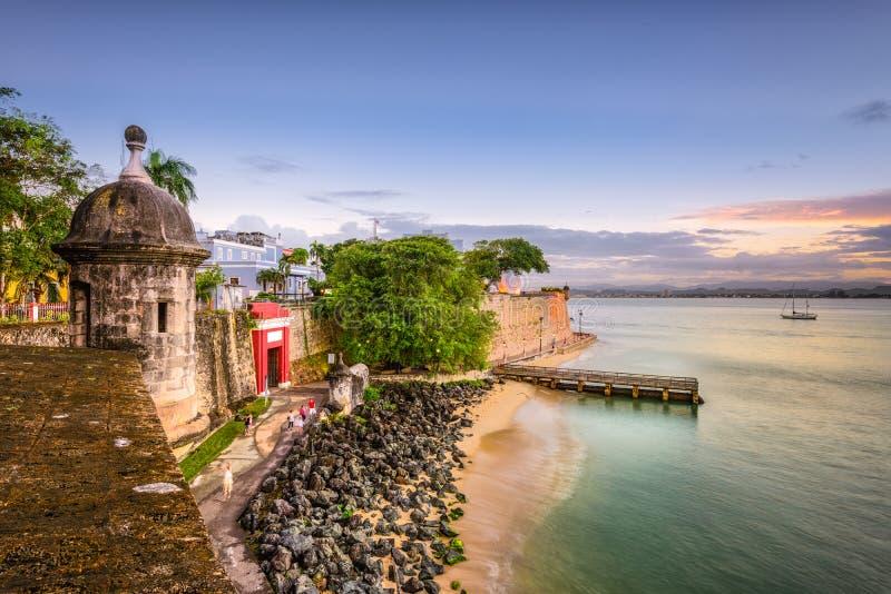 juan Porto Rico san images libres de droits