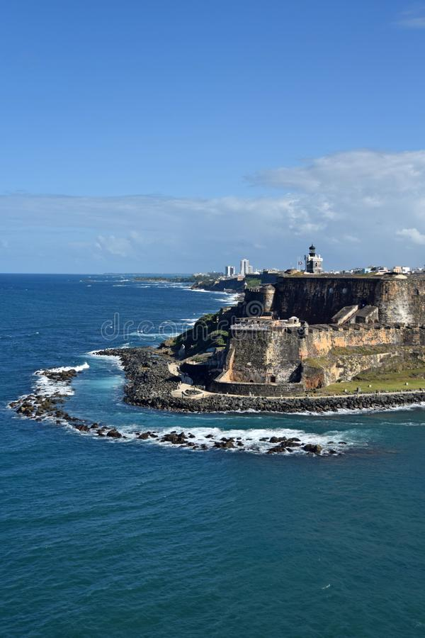 juan Puerto Rico san royaltyfria foton