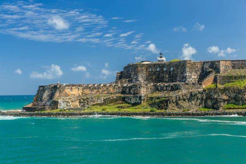 juan Puerto Rico san arkivbilder