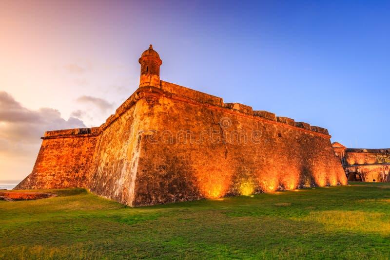 juan Puerto Rico san fotografering för bildbyråer
