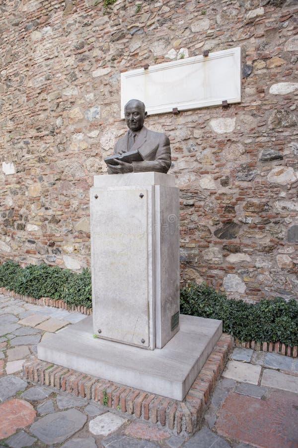 Juan Temboury Alvarez Statue royalty free stock photography