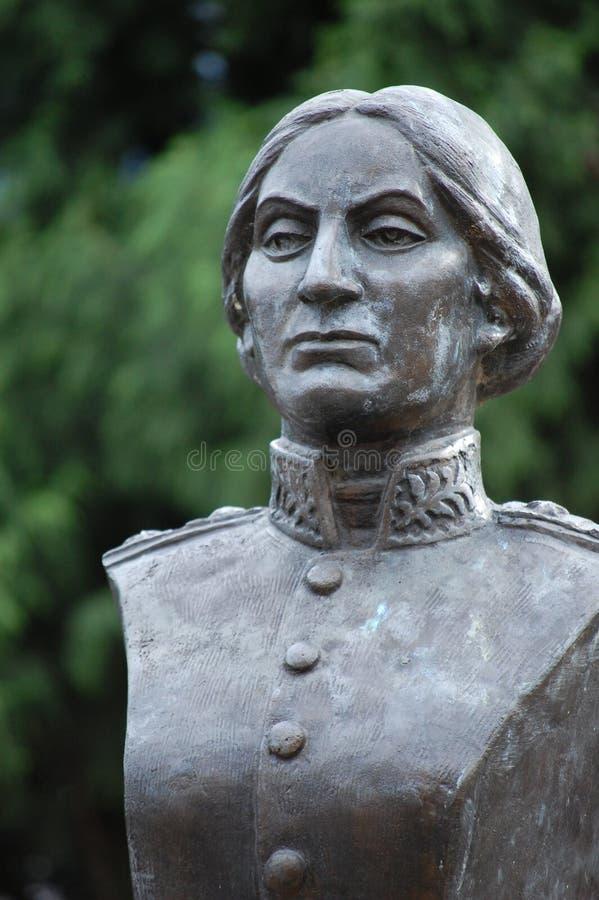 Juana Azurduy de Padilla imagen de archivo libre de regalías