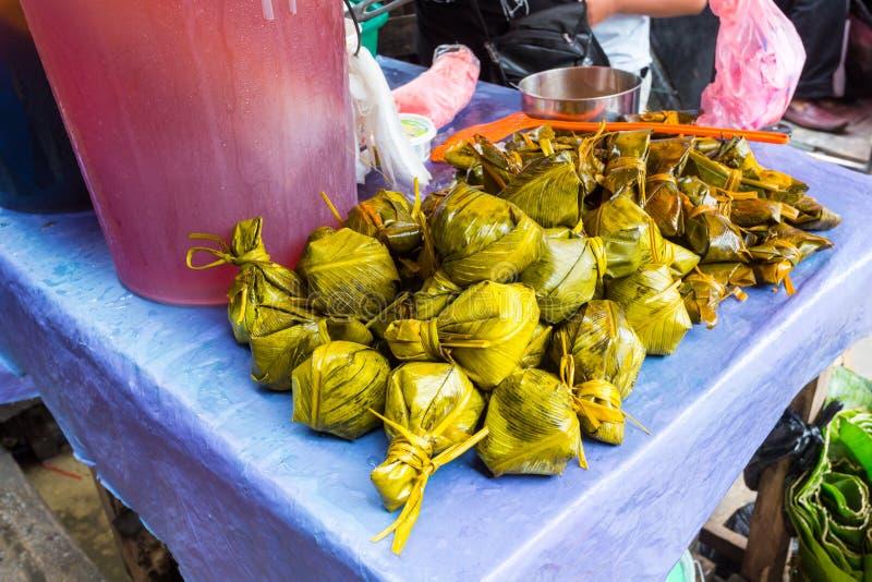 Juane een Peruviaans voedsel Uit de Amazone stock foto