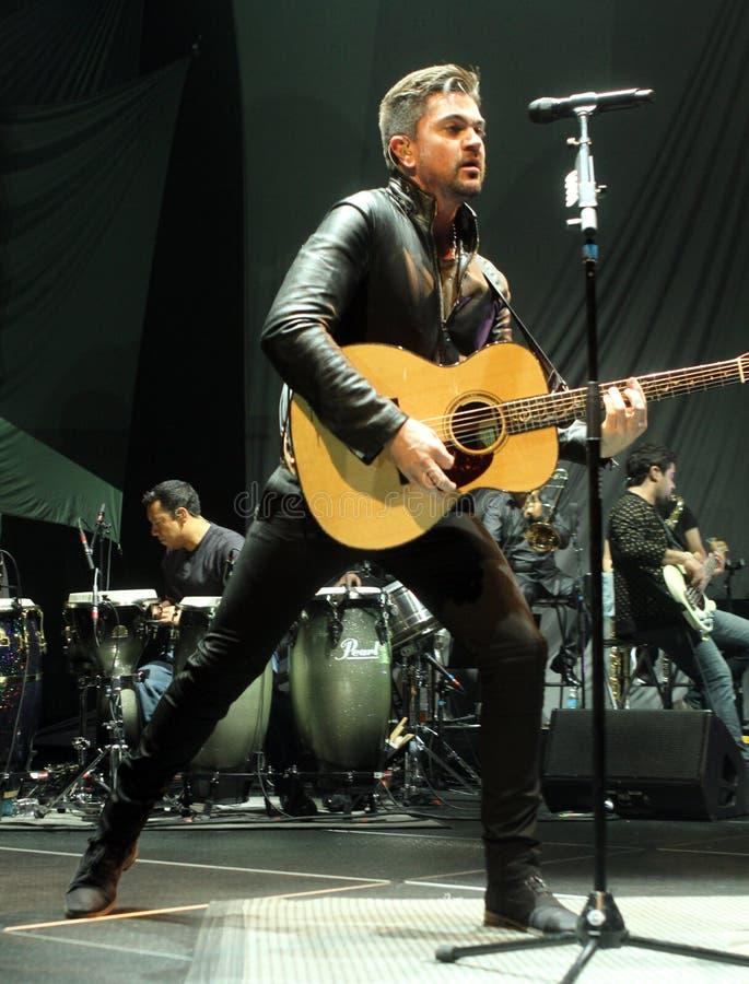 Juanes führt im Konzert durch stockfoto