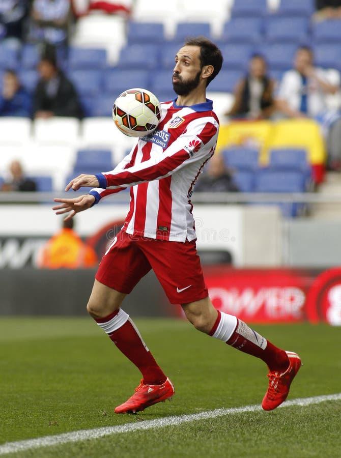 Juanfran Torres von Atletico Madrid lizenzfreie stockbilder