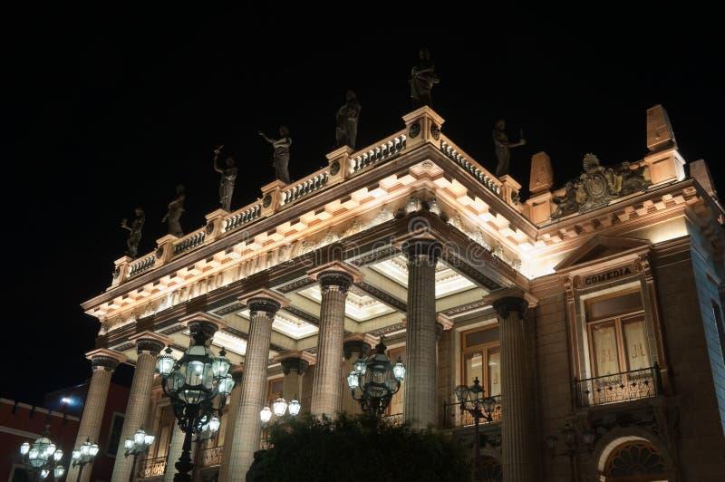 Juarez teatr, Guanajuato (Meksyk) obrazy stock
