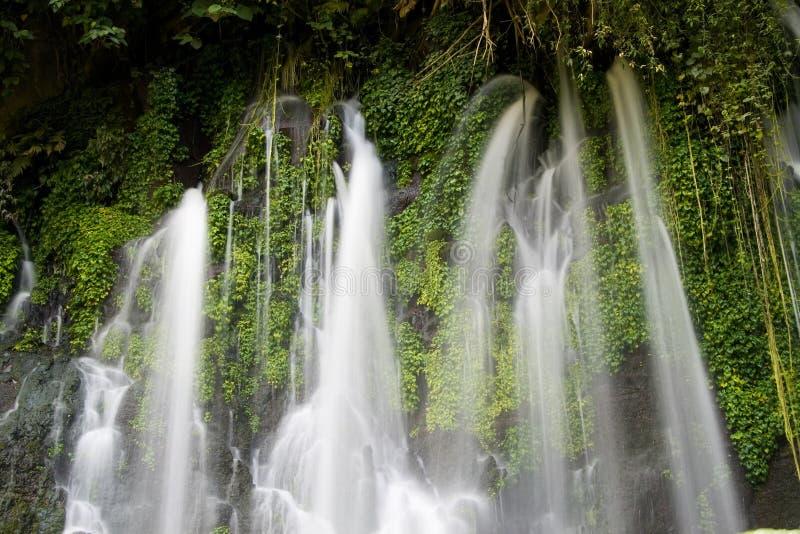 Juayua Wasserfälle lizenzfreie stockfotografie