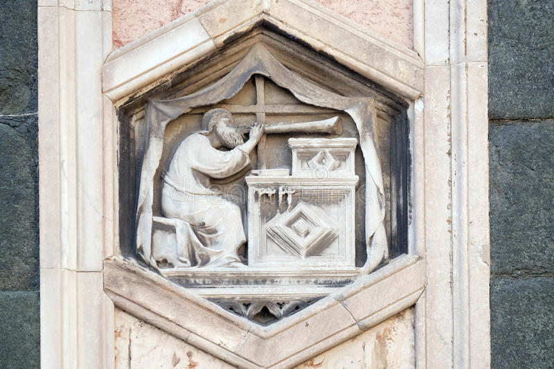 Jubal Florence Cathedral arkivfoton