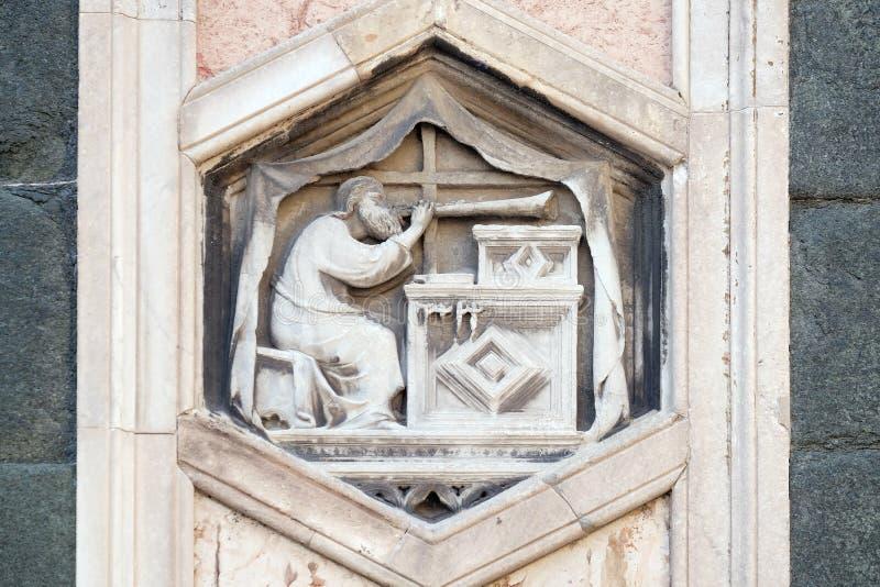 Jubal Florence Cathedral royaltyfri foto