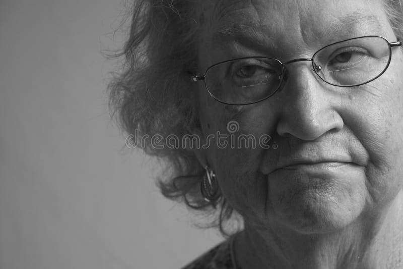 Jubilado Woman-6999 imágenes de archivo libres de regalías