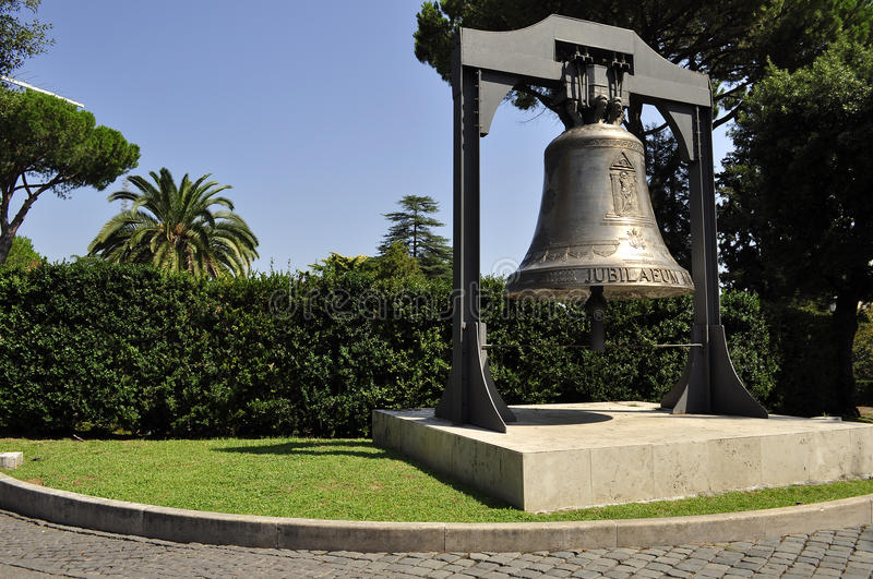 Jubilee Bell in Vatican State royalty free stock photography