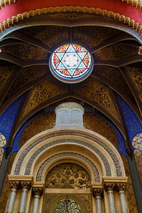 Free Jubilee Synagogue Prague In Czech Republic Stock Photos - 160851373