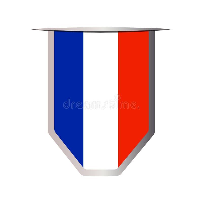 Download Jubileums- Frankrike Symbol Vektor Illustrationer - Illustration av stad, geografi: 106829261