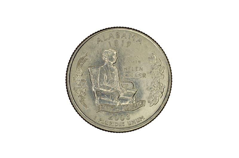 Jubileums- mynt för Förenta staterna royaltyfria foton