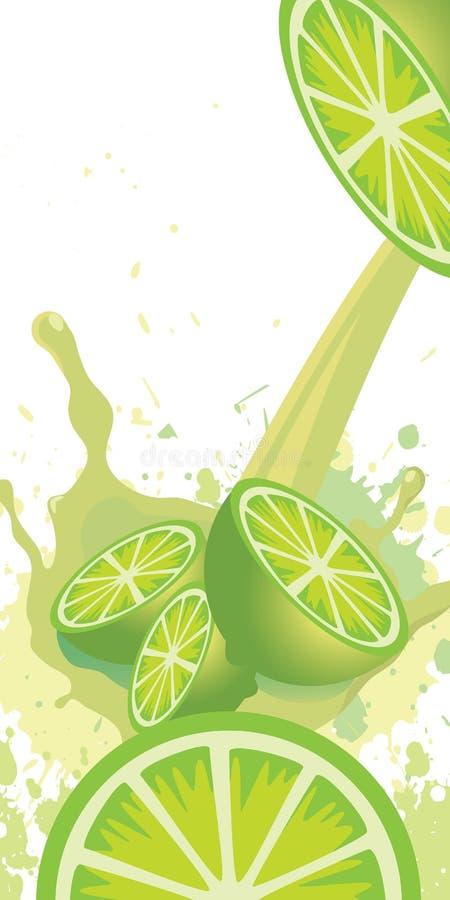 Jucie do limão ilustração royalty free