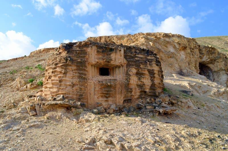 Judaean Wüste lizenzfreie stockfotos