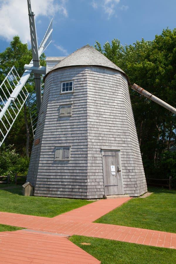 Judah Baker Windmill dans Yarmouth du sud, Etats-Unis photographie stock