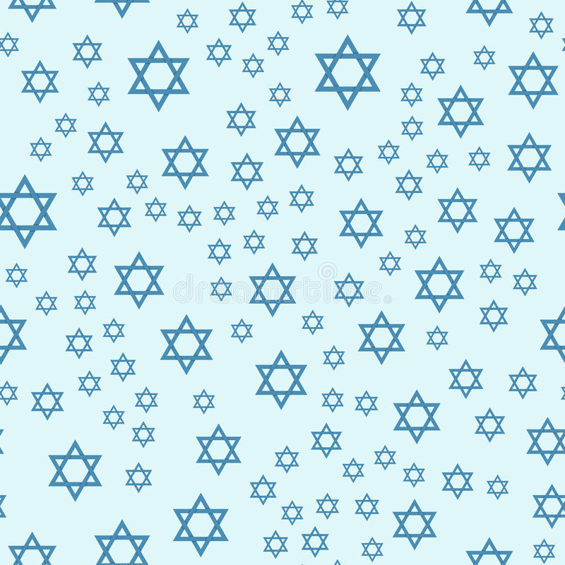 Judaism church traditional seamless pattern hanukkah religious synagogue passover hebrew vector illustration. stock illustration