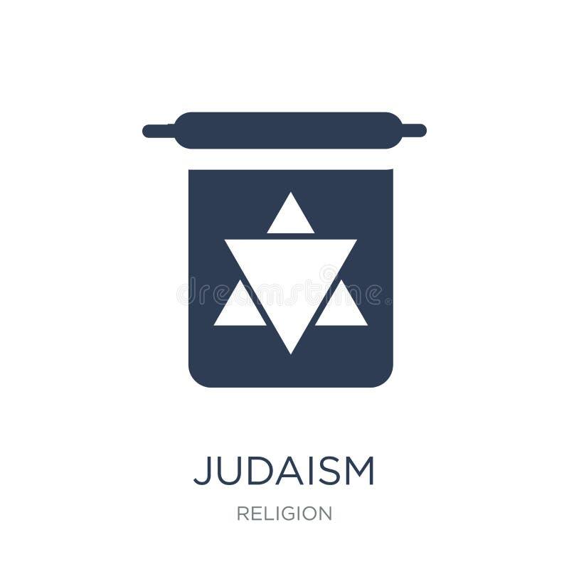 Judaizm ikona  royalty ilustracja