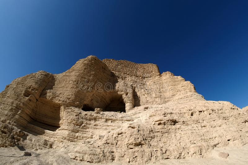 judea φρουρίων ερήμων zohar στοκ εικόνα