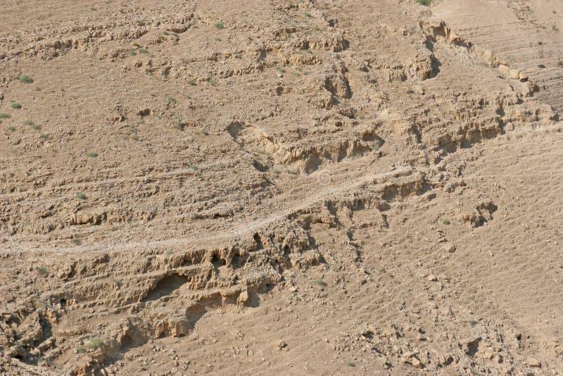 judea de l'Israël de désert photo stock