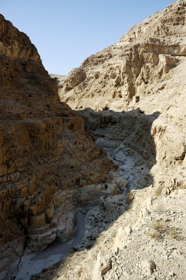 Judea pustyni góry krajobraz, Izrael fotografia stock