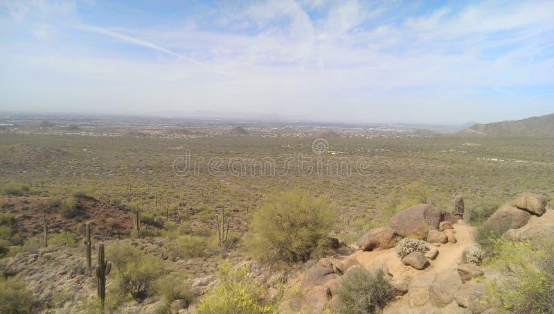 judean的沙漠 免版税库存图片